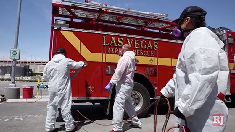 Las Vegas Community Giveback Disinfection